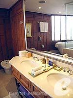 バンコク シーロム・サトーン周辺のホテル : デュシット タニ バンコク(Dusit Thani Bangkok)のタイ ヘリテイジ スイートルームの設備 Bath Room
