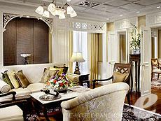 バンコク シーロム・サトーン周辺のホテル : デュシット タニ バンコク(Dusit Thani Bangkok)のお部屋「ラチャマンカ スイート」