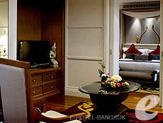 バンコク シーロム・サトーン周辺のホテル : デュシット タニ バンコク(Dusit Thani Bangkok)のお部屋「ドゥシット 2ベッドルーム スイート」