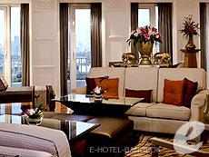 バンコク シーロム・サトーン周辺のホテル : デュシット タニ バンコク(Dusit Thani Bangkok)のお部屋「マジェストリー スイート」