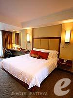 パタヤ ノースパタヤのホテル : デュシット タニ パタヤ(Dusit Thani Pattaya)のデラックス シービュールームの設備 Bedroom