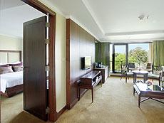 パタヤ ノースパタヤのホテル : デュシット タニ パタヤ(1)のお部屋「1ベッドルーム スイート ガーデンビュー」
