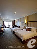 パタヤ ノースパタヤのホテル : デュシット タニ パタヤ(Dusit Thani Pattaya)のクラブ グランドルームの設備 Bedroom
