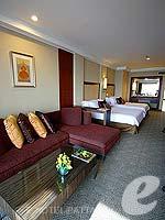 パタヤ ノースパタヤのホテル : デュシット タニ パタヤ(Dusit Thani Pattaya)のクラブ グランドルームの設備 Living Area