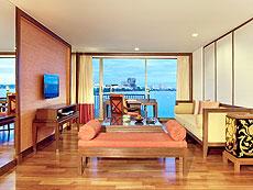 パタヤ ノースパタヤのホテル : デュシット タニ パタヤ(1)のお部屋「2ベッドルーム スイート」