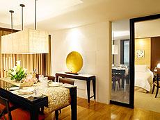パタヤ ノースパタヤのホテル : デュシット タニ パタヤ(1)のお部屋「ロイヤル プリンセス スイート」