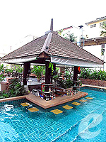 In-Pool Bar : Sunbeam Hotel Pattaya, Couple & Honeymoon, Phuket