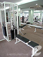 Fitness Gym : Sunbeam Hotel Pattaya, Couple & Honeymoon, Phuket