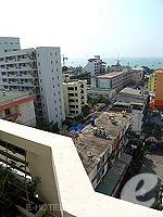 パタヤ サウスパタヤのホテル : サンビーム ホテル パタヤ(Sunbeam Hotel Pattaya)のデラックス(シングル)ルームの設備 View from Balcony