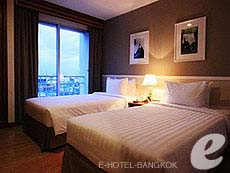 バンコク サイアム・プラトゥーナムのホテル : エバーグリーン プレイス バンコク バイ アーバン ホスピタリティ(Evergreen Place Bangkok by Urban Hospitality)のお部屋「デラックス スイート」