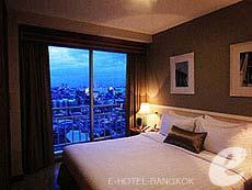 バンコク サイアム・プラトゥーナムのホテル : エバーグリーン プレイス バンコク バイ アーバン ホスピタリティ(Evergreen Place Bangkok by Urban Hospitality)のお部屋「エグジクティブ スイート 2ベッドルーム」