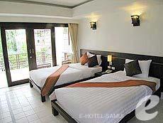 サムイ島 5,000円以下のホテル : エヴァーグリーン リゾート(1)のお部屋「スーペリア ビルディング」
