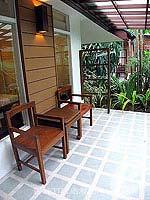 サムイ島 5,000円以下のホテル : エヴァーグリーン リゾート(Evergreen Resort)のデラックス ヴィラルームの設備 Terrace