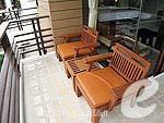 サムイ島 5,000円以下のホテル : エヴァーグリーン リゾート(Evergreen Resort)のジュニア スイートルームの設備 Balcony