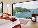 プーケット ファミリー&グループのホテル : ファー サイ(Fah Sai)の5ベッドルームルームの設備 Bedroom