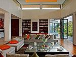 プーケット ファミリー&グループのホテル : ファー サイ(Fah Sai)の5ベッドルームルームの設備 Living Room