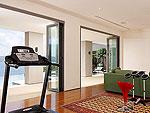 プーケット ファミリー&グループのホテル : ファー サイ(Fah Sai)の5ベッドルームルームの設備 Fitness