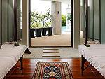 プーケット ファミリー&グループのホテル : ファー サイ(Fah Sai)の5ベッドルームルームの設備 Spa Treatment Room