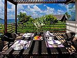 プーケット ファミリー&グループのホテル : ファー サイ(Fah Sai)の5ベッドルームルームの設備 Outdoor Dining