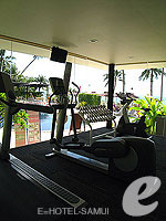 Fittness Gym : Mercure Koh Samui Beach Resort, Serviced Villa, Phuket