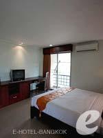 バンコク スワンナプーム空港周辺のホテル : フローラル シャイア リゾート(Floral Shire Resort)のスーペリア シングル ウィズアウト ブレックファーストルームの設備 Bedroom