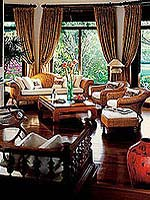 Living Room : One-Bedroom Resort Residence with Plunge Pool at Four Seasons Resort Chiang Mai, Couple & Honeymoon, Chiangmai