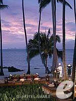 Sunset on the Beach / Four Seasons Resort Koh Samui, มองเห็นวิวทะเล