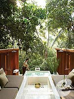 Spa Entrance : Four Seasons Resort Koh Samui, Pool Villa, Phuket