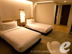バンコク シーロム・サトーン周辺のホテル : グロウ トリニティ シーロム バンコク(Glow Trinity Silom Bangkok)のお部屋「デラックス」