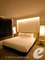 バンコク シーロム・サトーン周辺のホテル : グロウ トリニティ シーロム バンコク(Glow Trinity Silom Bangkok)のエグゼクティブ スイートルームの設備 Bedroom