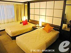 バンコク スクンビットのホテル : グランド ビジネス イン(Grand Business Inn)のお部屋「トリプル ルーム」