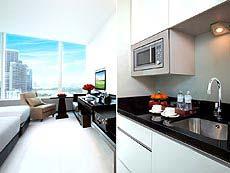 バンコク スクンビットのホテル : グランド センター ポイント ホテル ターミナル 21(Grande Centre Point Hotel & Residence - Terminal 21)のお部屋「デラックス」