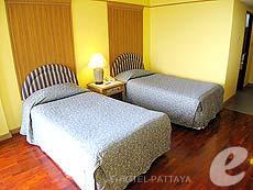 パタヤ ジョムティエンビーチのホテル : グランド ジョムティエン パレス(1)のお部屋「スーペリア メインウィング」