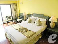 パタヤ ジョムティエンビーチのホテル : グランド ジョムティエン パレス(1)のお部屋「デラックス メインウィング」