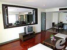 パタヤ ジョムティエンビーチのホテル : グランド ジョムティエン パレス(1)のお部屋「ジュニア スイート メインウィング」