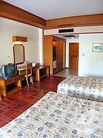 パタヤ ジョムティエンビーチのホテル : グランド ジョムティエン パレス(Grand Jomtien Palace)のデラックス グランド シャーレット ウィングルームの設備 Room View