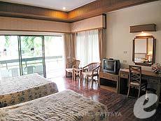 パタヤ ジョムティエンビーチのホテル : グランド ジョムティエン パレス(1)のお部屋「デラックス グランド シャーレット ウィング」
