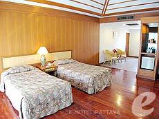 パタヤ ジョムティエンビーチのホテル : グランド ジョムティエン パレス(1)のお部屋「コテージ」