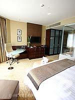 バンコク スクンビットのホテル : プルマン バンコク グランデ スクンヴィット (Pullman Bangkok Grande Sukhumvit)のデラックス(シングル)ルームの設備 Bedroom
