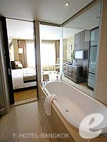 バンコク スクンビットのホテル : プルマン バンコク グランデ スクンヴィット (Pullman Bangkok Grande Sukhumvit)のデラックス(シングル)ルームの設備 Bath Amenities