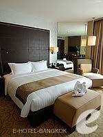 バンコク スクンビットのホテル : プルマン バンコク グランデ スクンヴィット (Pullman Bangkok Grande Sukhumvit)のデラックス(ツイン/ダブル)ルームの設備 Bedroom
