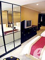 バンコク スクンビットのホテル : グランド プレジデント(Grand President)のロイヤル スイートルームの設備 Bedroom