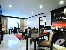 バンコク スクンビットのホテル : グランド プレジデント(Grand President)のお部屋「ファミリー スイート 2ベッドルーム」