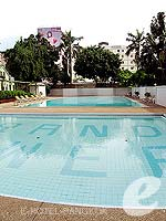 Swimming Pool : Grand Tower Inn, Free Wifi, Phuket