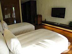 サムイ島 オーシャンビューのホテル : ハンサー サムイ リゾート & スパ(1)のお部屋「シービュー ルーム」