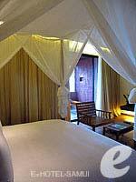 サムイ島 オーシャンビューのホテル : ハンサー サムイ リゾート & スパ(Hansar Samui Resort & Spa)のシービュー XL ルームルームの設備 Bedroom