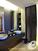 サムイ島 オーシャンビューのホテル : ハンサー サムイ リゾート & スパ(Hansar Samui Resort & Spa)のシービュー XL ルームルームの設備 Bath Room