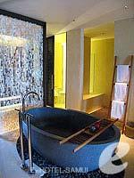 サムイ島 オーシャンビューのホテル : ハンサー サムイ リゾート & スパ(Hansar Samui Resort & Spa)のシービュー XL ルームルームの設備 Bathtub