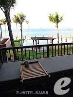 サムイ島 オーシャンビューのホテル : ハンサー サムイ リゾート & スパ(Hansar Samui Resort & Spa)のシービュー XL ルームルームの設備 Balcony