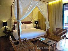 サムイ島 オーシャンビューのホテル : ハンサー サムイ リゾート & スパ(1)のお部屋「シービュー XL ルーム」